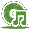08, green OliveDrab icon