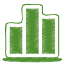 09, green OliveDrab icon