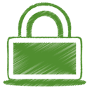 green, privacy, secure, Lock OliveDrab icon