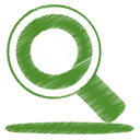 Find, green, search OliveDrab icon