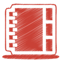 03, red Firebrick icon