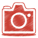Camera, photo, 10, red Firebrick icon