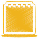 yellow, 34 Goldenrod icon
