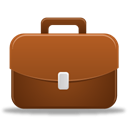 case, Briefcase, job, work, Bag, suitcase, career, travel, Business Sienna icon