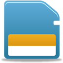 Memorycard SteelBlue icon