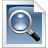 search, Readme, Text DarkGray icon