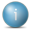 Info SteelBlue icon
