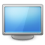 monitor, screen, Computer CornflowerBlue icon