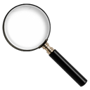 magnify, zoom, Find, search Black icon