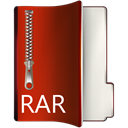 Rar Maroon icon