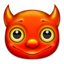 Devil, free bsd, Freebsd OrangeRed icon