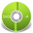 Dvd, r YellowGreen icon