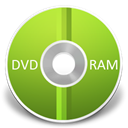 ram, Dvd YellowGreen icon
