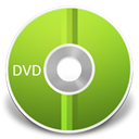 Dvd YellowGreen icon