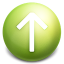 Arrow, Up OliveDrab icon
