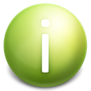Information OliveDrab icon