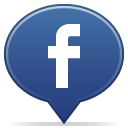 Facebook, Bubble, Chat, Balloon DarkSlateBlue icon