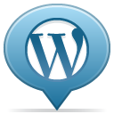 Balloon, Social, 27, Wordpress SteelBlue icon