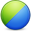 chart, pie, graph RoyalBlue icon