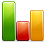 chart, graph ForestGreen icon