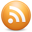 feed, Rss Chocolate icon