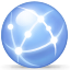 network, internet CornflowerBlue icon