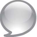 Chat, talk LightSlateGray icon