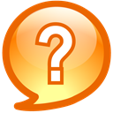 question Chocolate icon