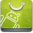 droid, market, android play, Android, robot, android canavarä± YellowGreen icon