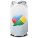 drink, google, web20, Buzz Black icon