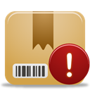 package, warning BurlyWood icon