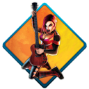rock, music, guitar hero Black icon