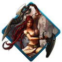 Heavenly, sword Black icon