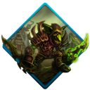 Goblin, wow Black icon