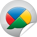 04, google, Buzz Gainsboro icon