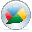 Buzz, google, 08 Silver icon