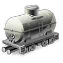 train, wagon Black icon