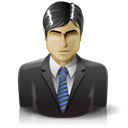 Business man, consultant, user, woman, Man, male, Administrator, Boy DarkSlateGray icon