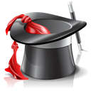 hat, wizard DarkSlateGray icon