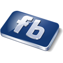 Facebook, social media Black icon