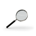 search, magnifying glass, Find Black icon