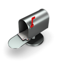 Mailbox, Email Black icon
