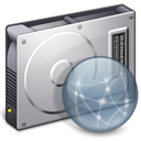 hard disk, drive, File, Server, Disconnected, Hd DarkGray icon