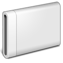 drive, Removable, Disk Gainsboro icon