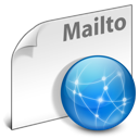 mailto, network, internet, File WhiteSmoke icon