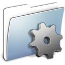 Developer, smooth, Folder, Graphite LightSteelBlue icon
