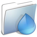 torrents, Folder, Graphite, smooth LightSteelBlue icon