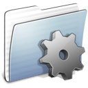Developer, Graphite, Folder, stripped LightSteelBlue icon