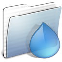 Folder, stripped, Graphite, torrents LightSteelBlue icon