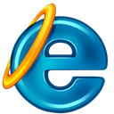 internet explorer, microsoft DarkCyan icon